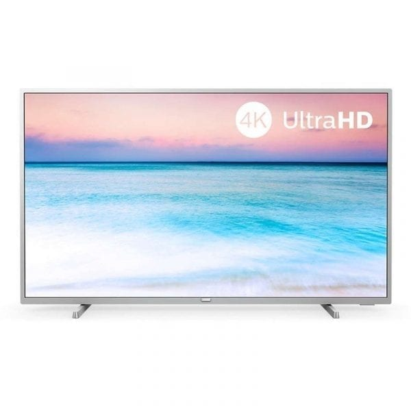 TV Philips 43PUS6554 43″ 4K UHD Smart TV Plata