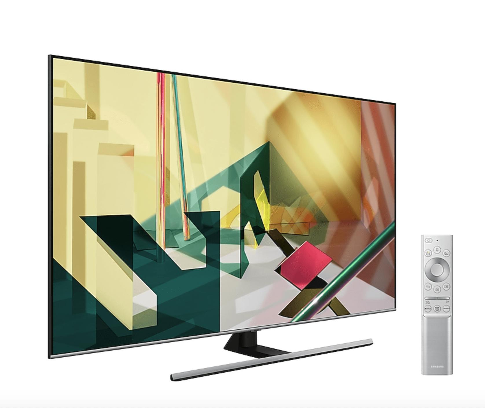 "Mando y TV Samsung QE55Q75T 55"" QLED 4K UHD"