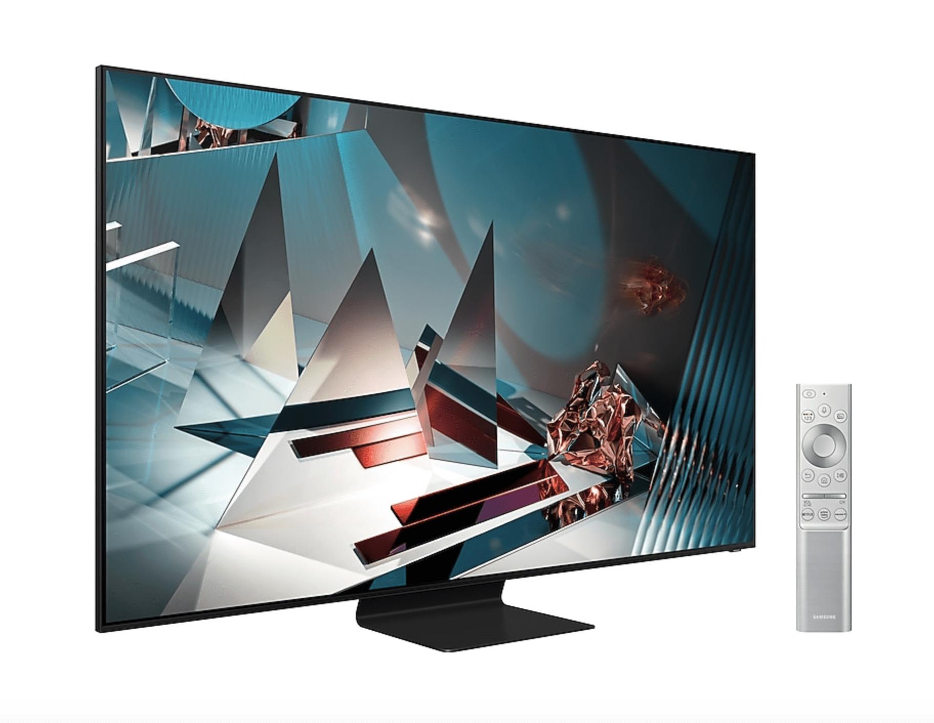 "Mando y TV Samsung QE65Q800T 65"" QLED 8K UHD"