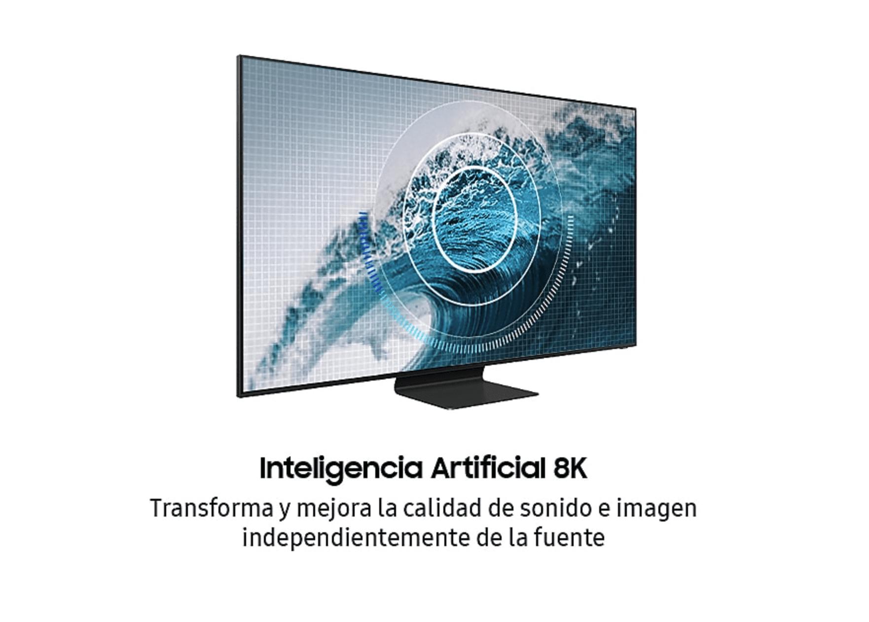 """Detalle de la TV Samsung QE75Q800T 75"""" QLED 8K UHD"""