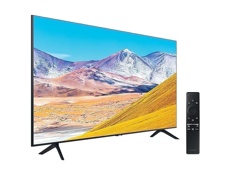 "Mando y TV Samsung UE82TU8005 82"" Crystal UHD 4K"