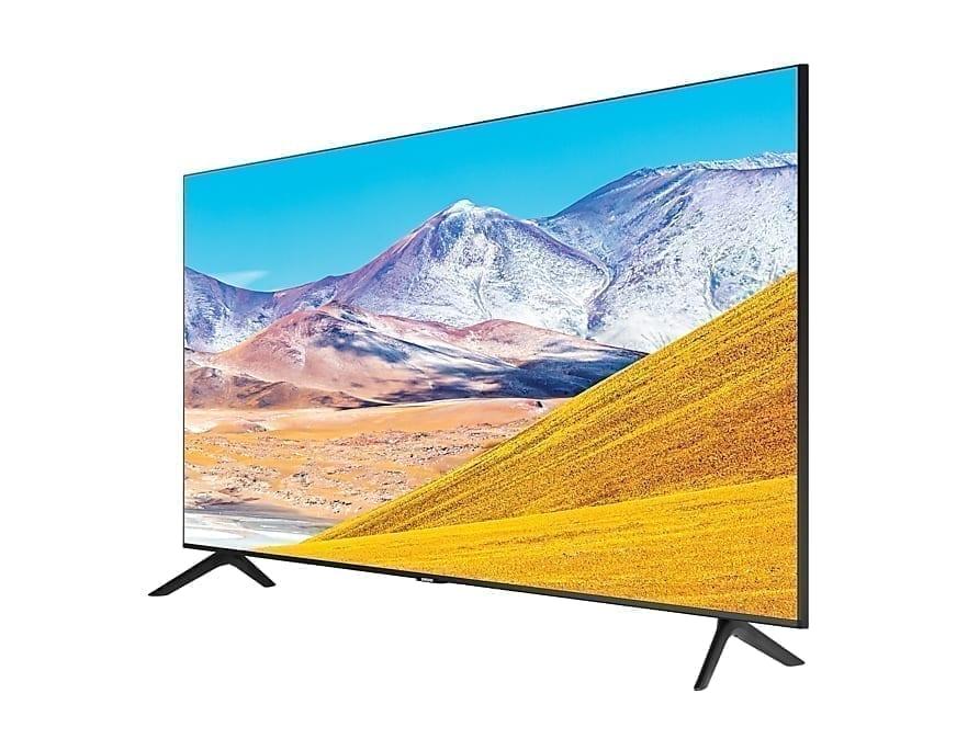 """Detalle de la TV Samsung UE82TU8005 82"""" Crystal UHD 4K"""